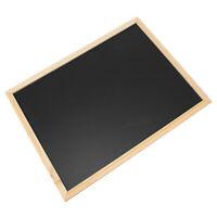 40cm x 30cm Blackboard Chalkboard Home Wall Mounted Memo Message Chalk Board