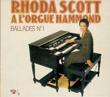 RHODA SCOTT  ballades no.1  / DIGIPACK 2007