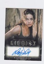The Chronicles of Riddick Alexa Davalos as Kyra autograph Auto Rittenhouse