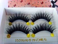 BEST! 5 Pairs Long Thick Handmade Makeup Fake False Eyelashes Eye Lashes #2