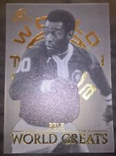 Futera Platinum 2003 World Football World Greats W6 PELE Limited Edition