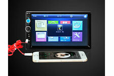 Stereo autoradio 2 din 7 pollici touch screen bluetooth aux usb sd 7020