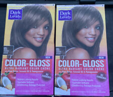 (Pack of 2) Dark and Lovely COLOR-GLOSS Ultra Radiant Color Creme- No Ammonia