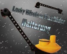 Lucky smartcast yellow, Fishfinder Holder,Halterung ,Angel, Futterboot.