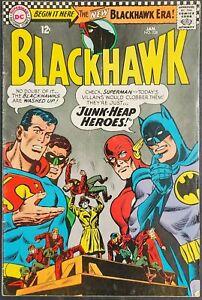 Blackhawk #228 DC Comics January 1967 Silver Age! 12 cent VG 4.0! 20% OFF!