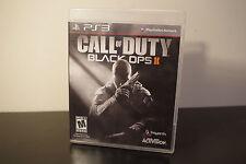 Call of Duty: Black Ops II (Sony PS3, 2012) *Tested / CIB