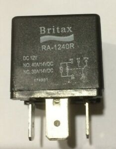 Britax RA1240R 12V 30/40A Mini Relay Aust/Euro Pin Configuration with Resistor