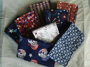 3 Dog Belly Bands, PATRIOTIC, Male Dog Diaper, Clothes, Training, Housebreaking