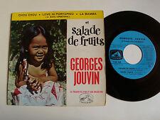 "GEORGES JOUVIN: Salade de fruits, bamba, chou chou 7"" EP 45T 1960 VDSM EGF 450"