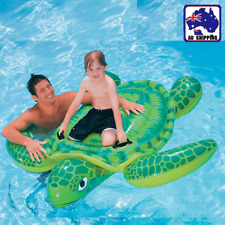 190cm Giant Sea Turtle Inflatable Toy Float Swimming Pool Summer Beach WDIT93319