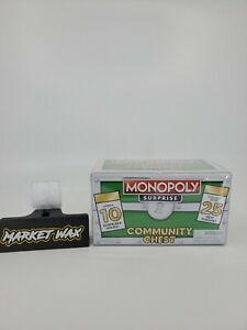 Monopoly Surprise Community Chest - 10 Piece Mystery Chest Green
