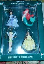 DISNEY CHRISTMAS COLLECTION - Princess Miniature Ornament Set of 4