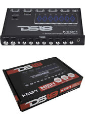 DS18 7 Band Graphic Equalizer Six Channel 7 Volt RCA Subwoofer Level