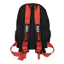 50 Caliber Racing Backpack bag Sport Travel Business Gym UTV Motorcycle Gear Red