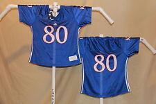 KANSAS JAYHAWKS  Adidas  #80  FOOTBALL JERSEY  Womens XL   NWT  $50 retail