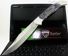 Timber Rattler Scarab Back Giant Clip Point Lockback Folder Folding Pocket Knife