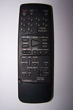 MATSUI VCR REMOTE CONTROL for VX1100 slightly damaged casing