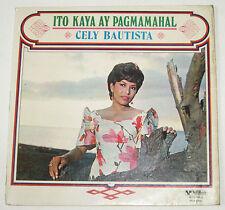 Philippines CELY BAUTISTA Ito Kaya Ay Pagmamahal OPM LP Record