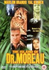 The Island Of Dr Moreau Dvd Marlon Brando Brand New & Factory Sealed