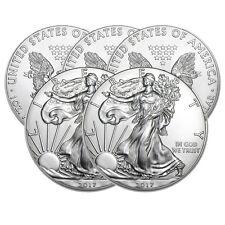 Lot of 5 Silver 2017 American Eagle 1 oz. Coins - .999 fine silver Eagles 1oz