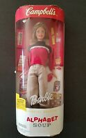 Campbell's Barbie Alphabet Soup Doll Special Edition 26845 New 1991