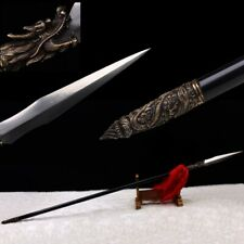 Hand Forged Hundred steel making Seiko Long Teng spear Overlord Spear Sword #119
