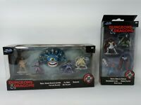 Dungeons and Dragons bundle 5 figures and 4 figures die- cast New Jada toys 2020
