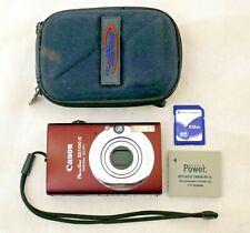 Canon Powershot SD1100 IS Digital Elph 8MB Digital Camera Bronze +Accessories