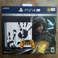 PlayStation 4 Pro 1TB Limited Edition Console - Death Stranding Bundle Brand New
