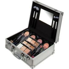Technic Master Beauty Aluminium Train Case & Contouring Make Up Kit Full Size