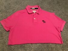 ABERCROMBIE & FITCH MENS POLO SHIRT, Size M