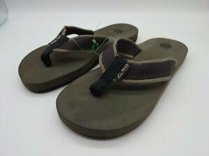 Reef Womens Sandy Summer Beach Holiday Sandals Thongs Flip Flops - green UK 5.5