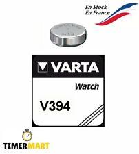 Piles Bouton V394 pour montre Varta tous modèles batterie pile 1.55V V394