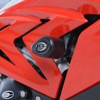 R&G Crash Protectors Aero Crash Protectors for BMW S1000RR (2015 - 2017)  BLACK