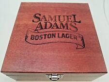 SAMUEL ADAMS BOSTON LAGER WOODEN BOX