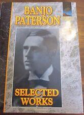Banjo Paterson: Selected Works (Australian Classics Hardback book (Like New)