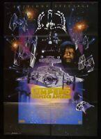 Manifesto L'Empire Strikes Anker Star Wars George Lucas M287