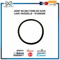 Joint de bac fond de cuve Lave-vaisselle Candy Rosieres Baumatic - 91406300
