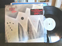 HILARY KINETIC US MINI LP EP VINYL PROMO rare new wave synth 1983 vinyl 4 song!!