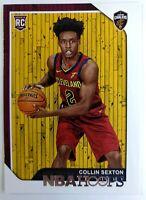2018 18 Panini NBA Hoops Collin Sexton Rookie RC #280, Cleveland Cavaliers