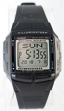 Casio DB-36-1AV Mens Multi Lingual 30 Page Databank Watch 10 Year Battery New