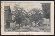 Postcard BERLIN New York/NY  River Street Family Houses/Homes view 1907
