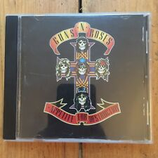 Guns N' Roses Appetite For Destruction CD Axl Rose Slash Stadium Rock Hair Metal