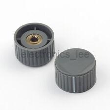 5pcs KYZ32-20-6 Potentiometer Knob Cover Cap Plastic Gray 32*20*6mm