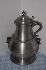 Vintage Pewtertone 1968 Jug Bucket Tankardware Ice Bucket By Sey Mour Mann