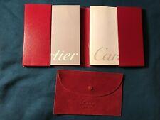 Cartier Watch Certificate Set
