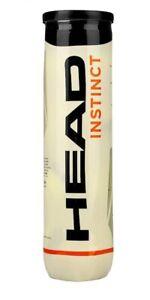 HEAD Instinct Tennis Balls - 1x 4 Ball Tube - Yellow