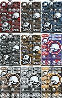 1x Metal Mulisha Racing Stickers Sheet Emblem Motorcycle Racing Graphics Decals