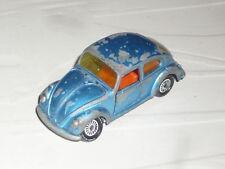 1:64 Siku Made in West Germany VW Beetle Bug Kafer KDF 1100 1200 1300 Blue GTi