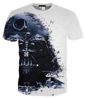 Star Wars Darth Vader 3D print women/men Short Sleeve T-Shirt Casual Tops S-5XL